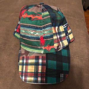 Polo patchwork hat